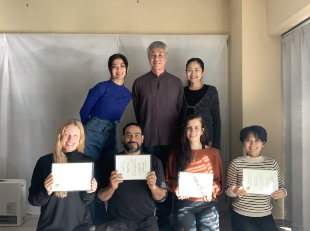 The first International Jiriki teacher training